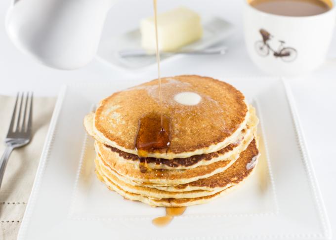 Cornmeal Pancakes-2