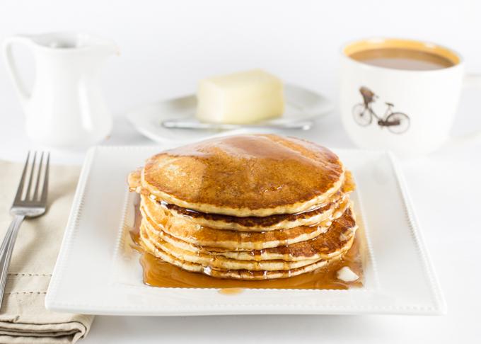 Cornmeal Pancakes-3