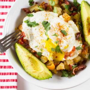 Roasted Potato Breakfast Bowl