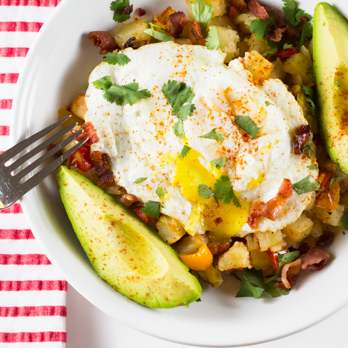 Roasted Potato Breakfast Bowl