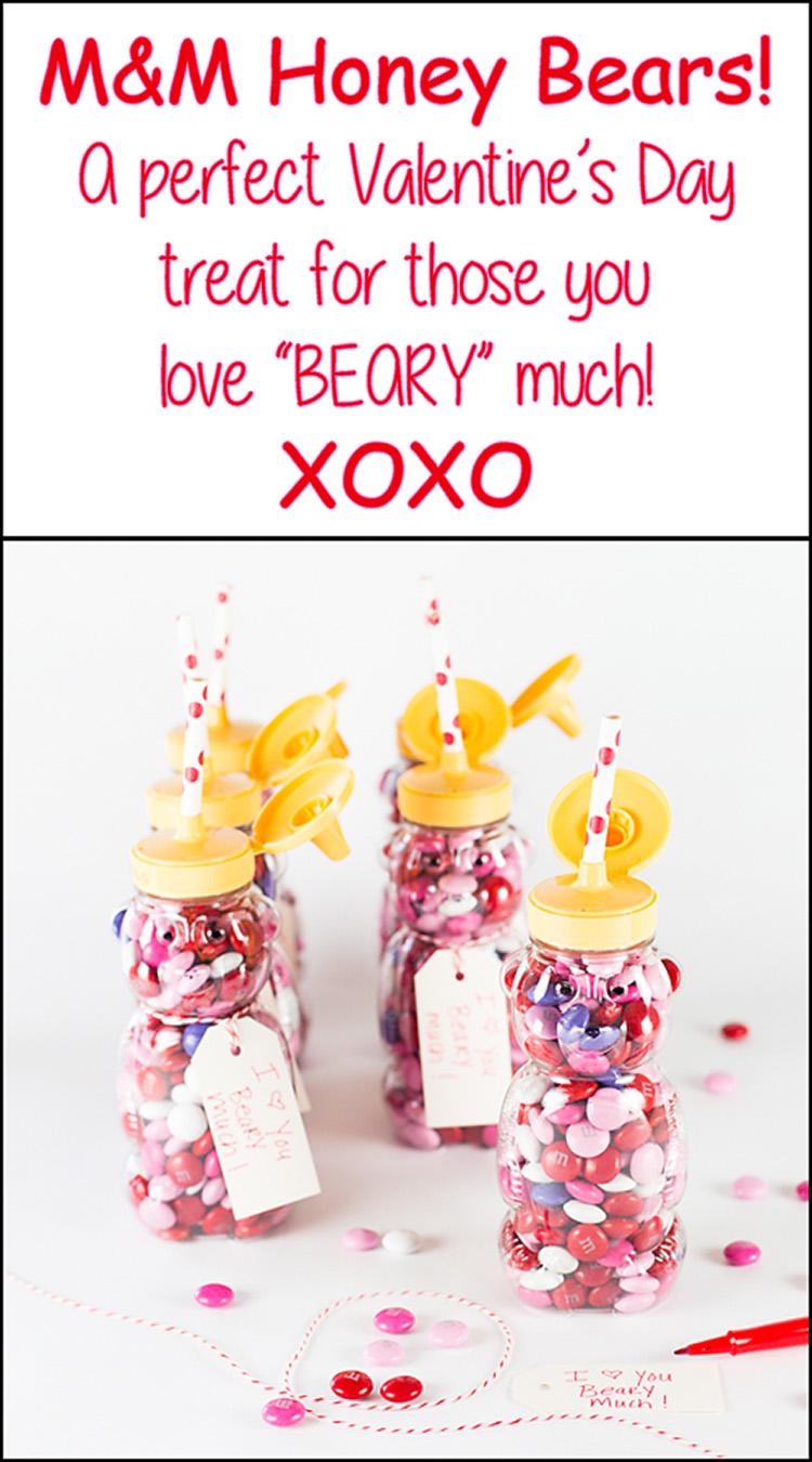 Valentine's M&M Bear