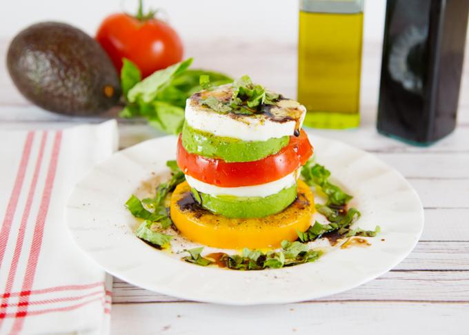 Caprese Stack Salad-4