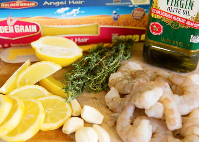 Lemon Thyme Shrimp