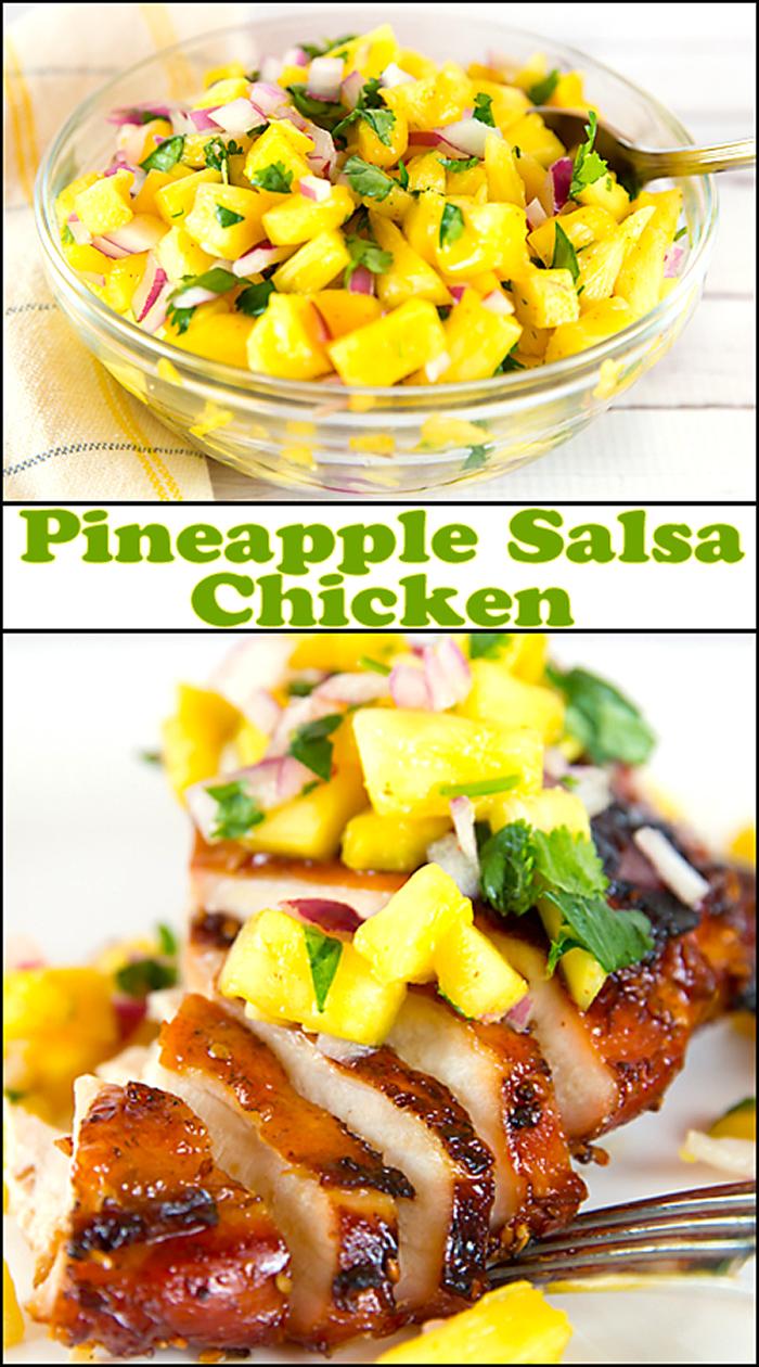 Pineapple Salsa Chicken