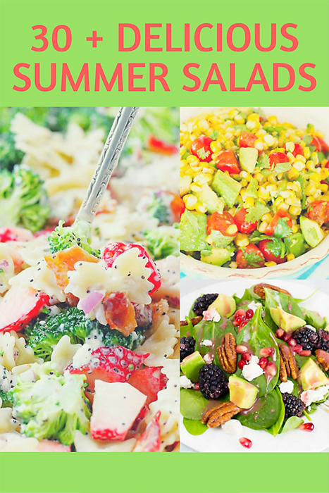 30+ Delicious Summer Salads