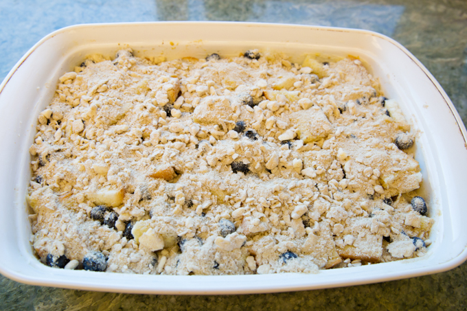 Blueberry French Toast Casserole-3