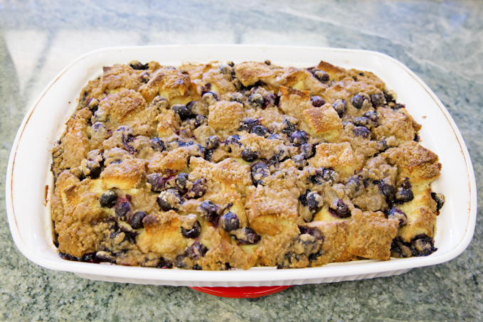 Blueberry French Toast Casserole-4