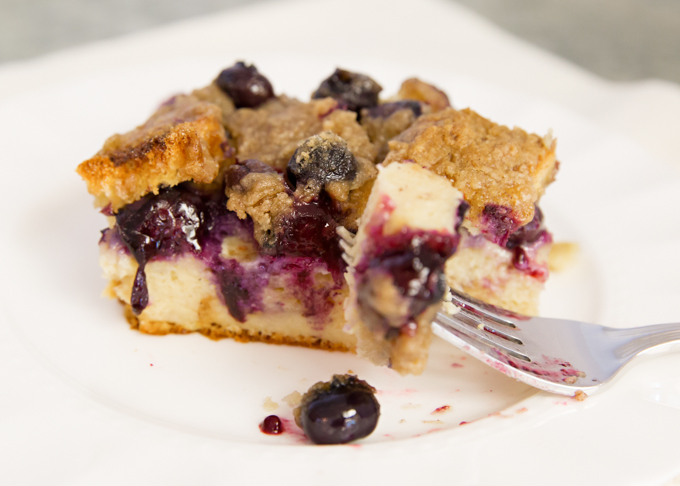 Blueberry French Toast Casserole-8
