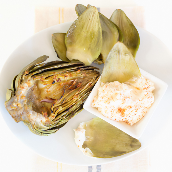 Grilled Artichokes-4