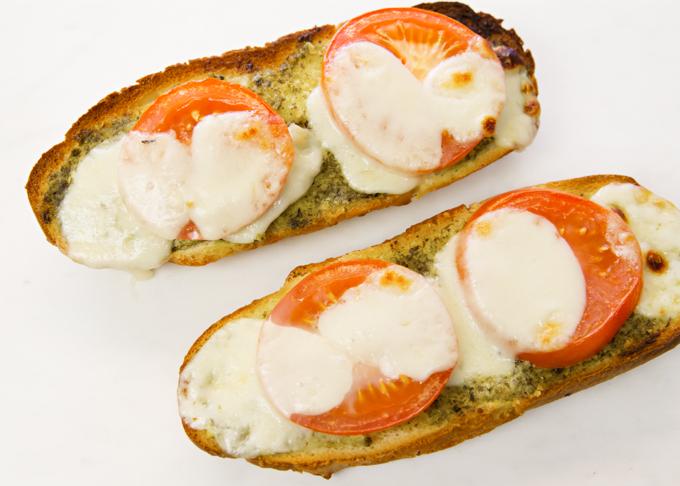 Pesto Caprese Bread