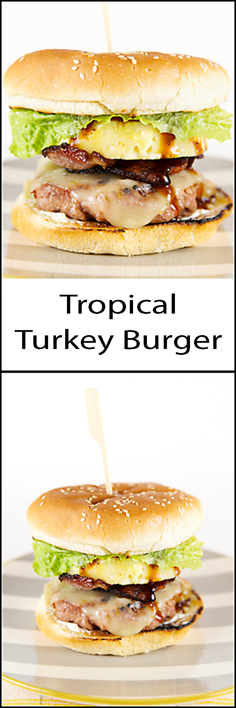Tropical Turkey Burger