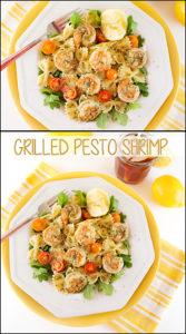 Grilled Pesto Shrimp
