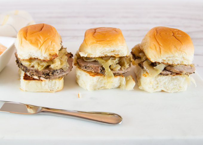 Peppered Pork Sliders Joy In Every Season