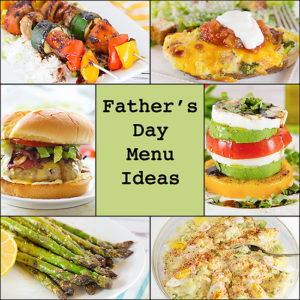 Father's Day Menu Ideas