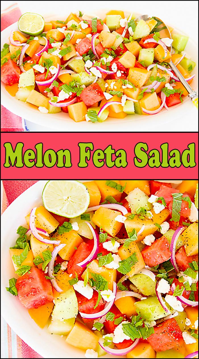 Melon Feta Salad - Joy In Every Season