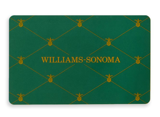 William Sonoma Gift Card GiveAway