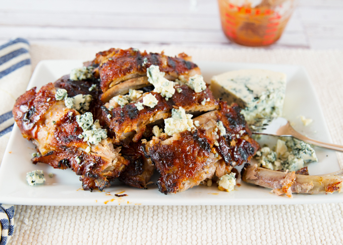 Blue Cheese BBQ'd Ribs-6