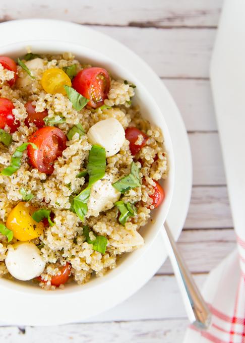 Quinoa Caprese Salad-4