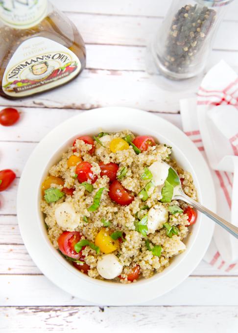 Quinoa Caprese Salad-6