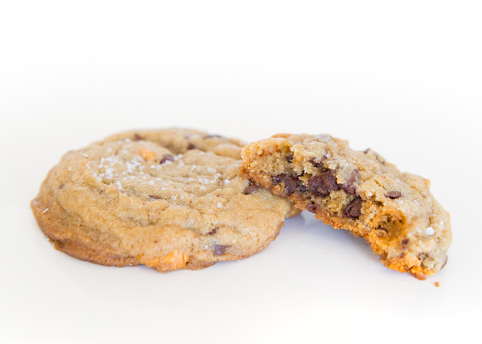Brown Butter Triple Chip Cookies