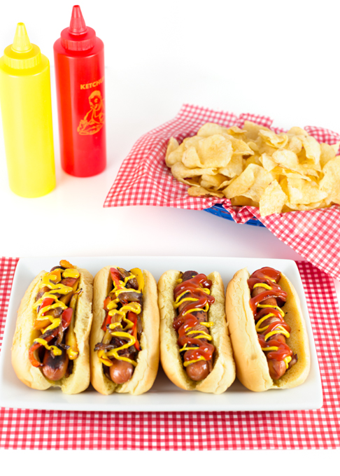 Bacon Wrapped Hot Dogs-5