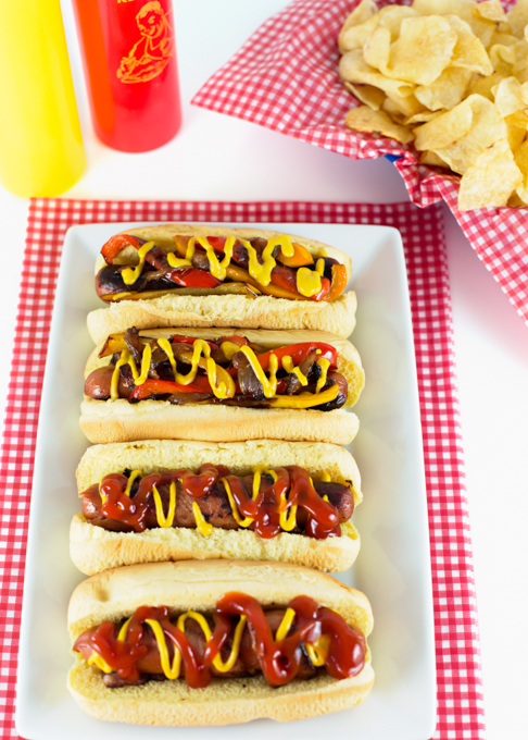 Bacon Wrapped Hot Dogs-7