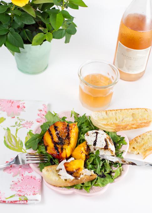 Burrata & Nectarine Salad-5