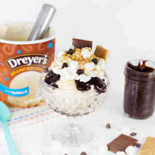 S'More Sundae w/Homemade Hot Fudge