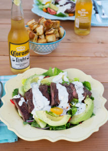 Steak Salad with Creamy Blue Cheese Dressing-7 - Joy In Every Season