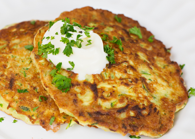 Zucchini Pancakes - Joy In Every Season