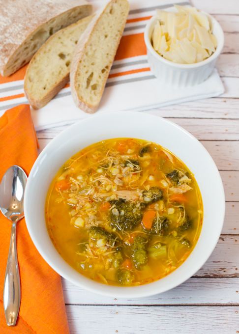 Healthy Chicken Soup-1