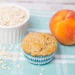 Oatmeal Peach Muffin