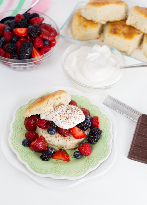 Biscuit Berry Shortcake