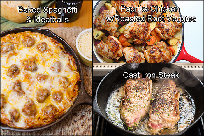Cast Iron Round-Up