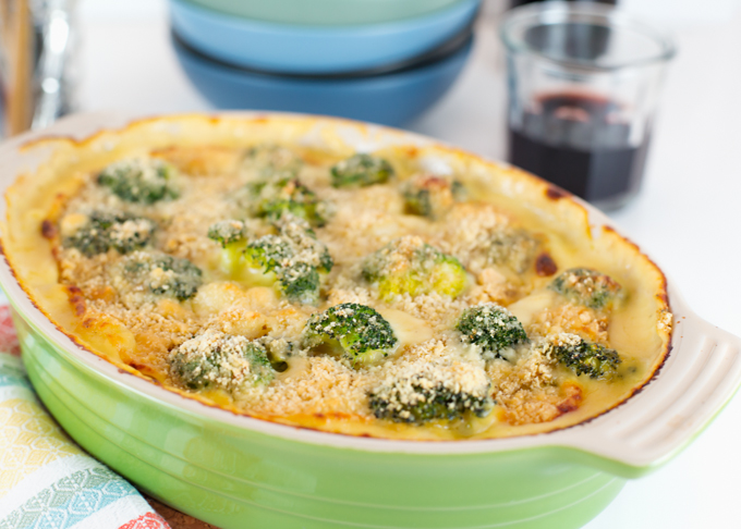Baked Four Cheese Gnocchi w-Broccoli-3
