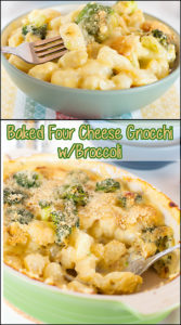 Baked Four Cheese Gnocchi