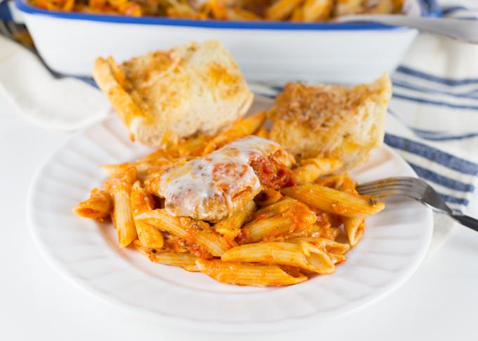 Chicken Parmesan w-Penne-7