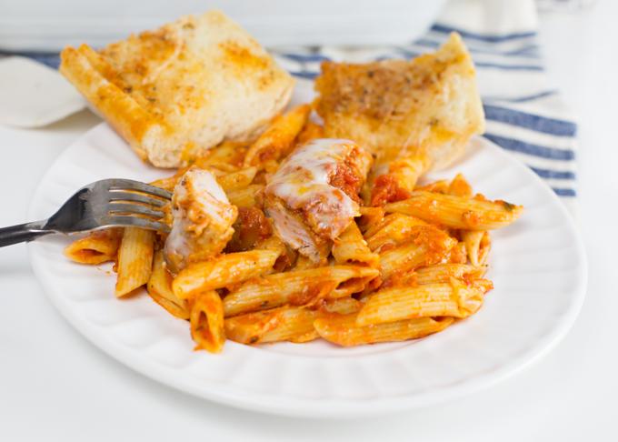 Chicken parmesan w penne pasta joy in every season for Hook fish chicken cincinnati oh