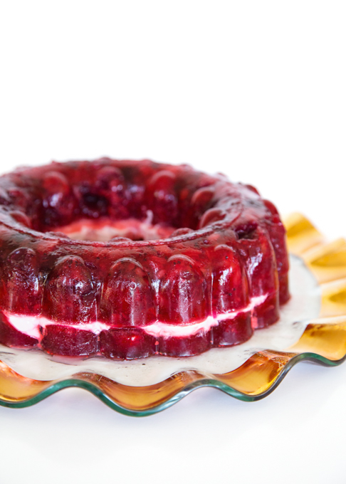 Cran-Raspberry Jello Salad