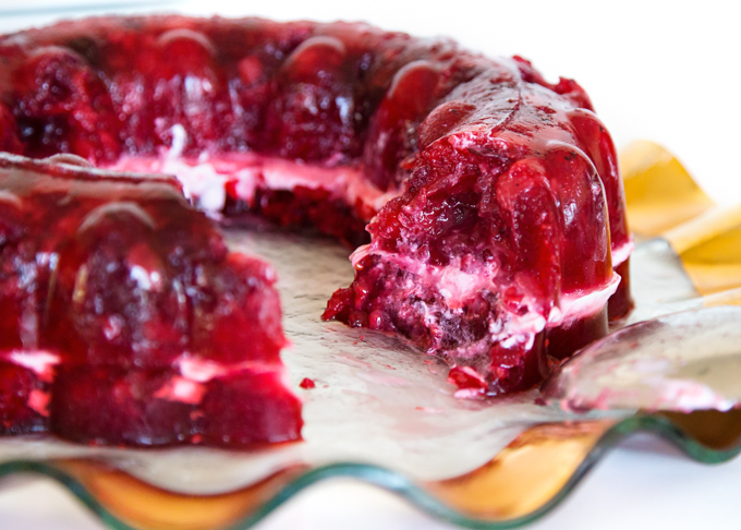 Raspberry Jello Salad-4
