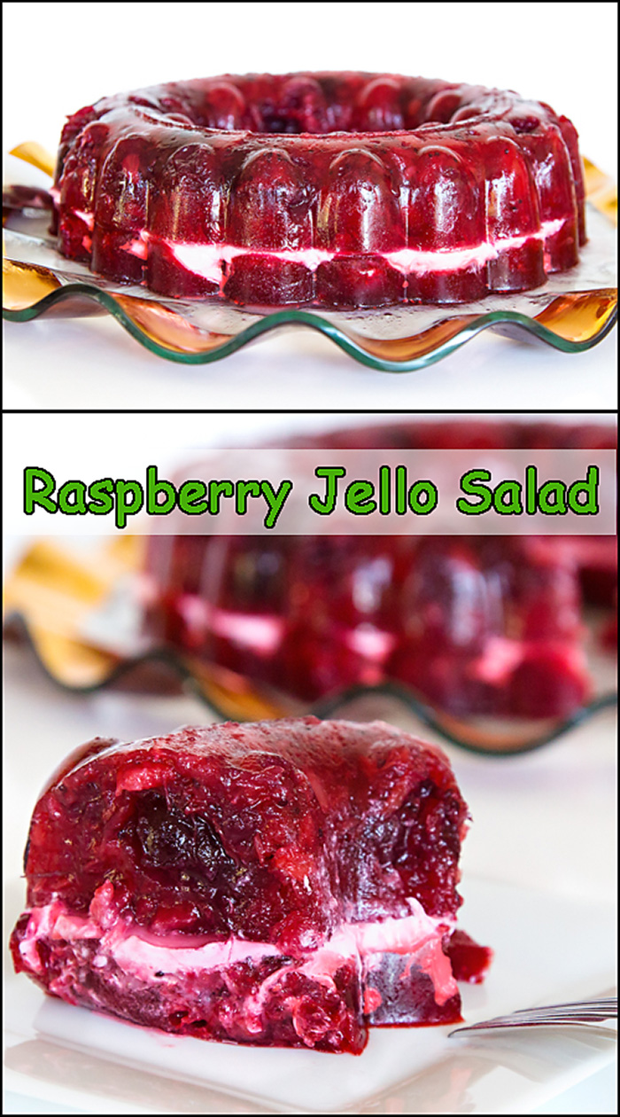 Cran Raspberry Jello Salad