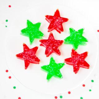 Christmas Jello Jigglers