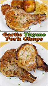 Garlic Thyme Pork Chops