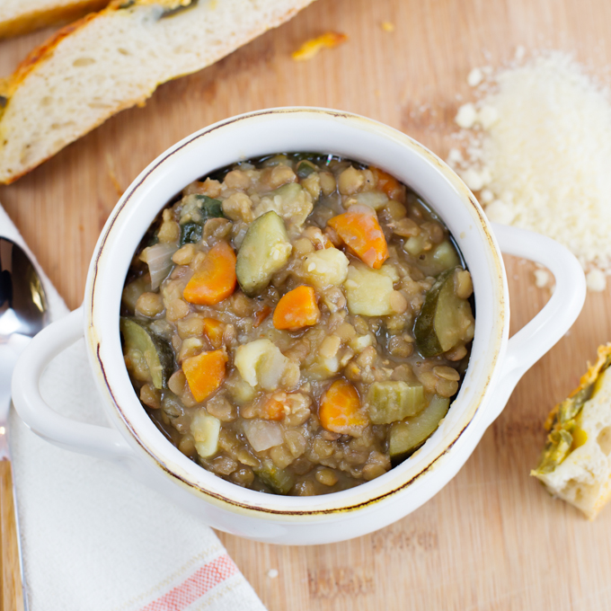 Veggie Lentil Stoup - Joy In Every Season