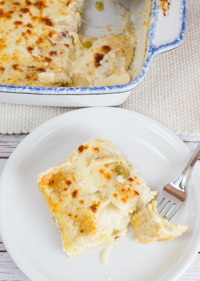 White Chicken Ravioli Bake-13-2