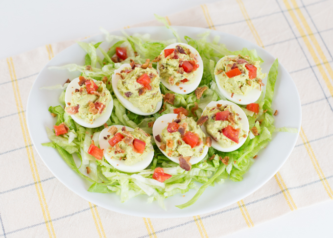 Avocado BLT Eggs