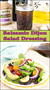 Balsamic Dijon Salad Dressing