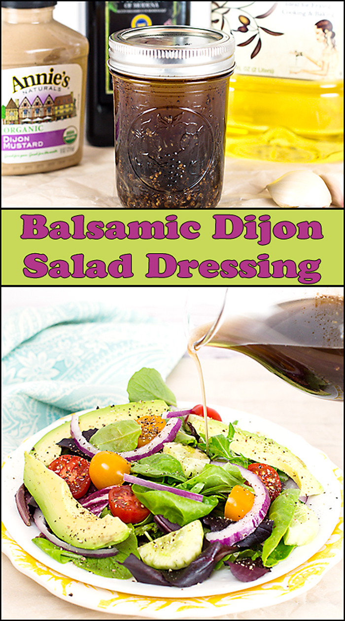 Balsamic Dijon Salad Dressing