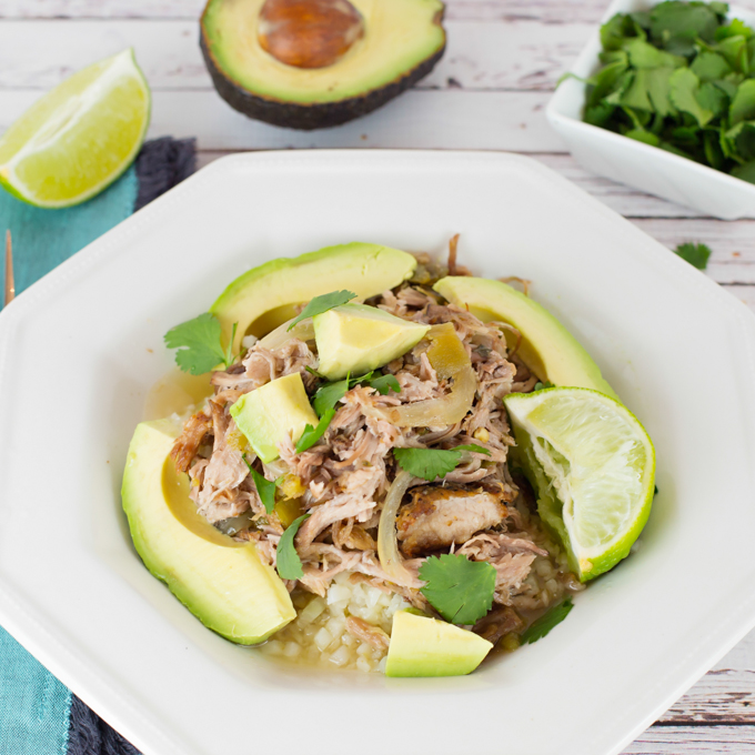 Healthy Pork Carnitas