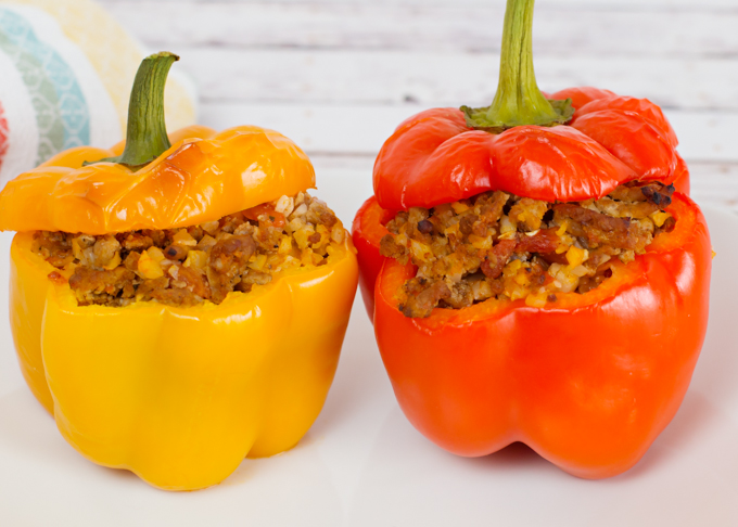 Stuffed Bell Peppers-4